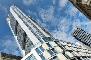 پاورپوینت تحلیل برج اداری کامرز بانک