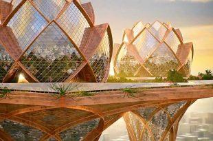 پاورپوینت رابطه انسان و طبیعت در معماری
